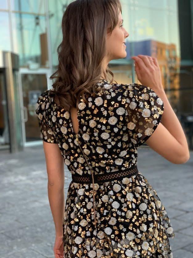 Black Tiered Skirt  Self Portrait  Maxiskjørt - Dameklær er billig