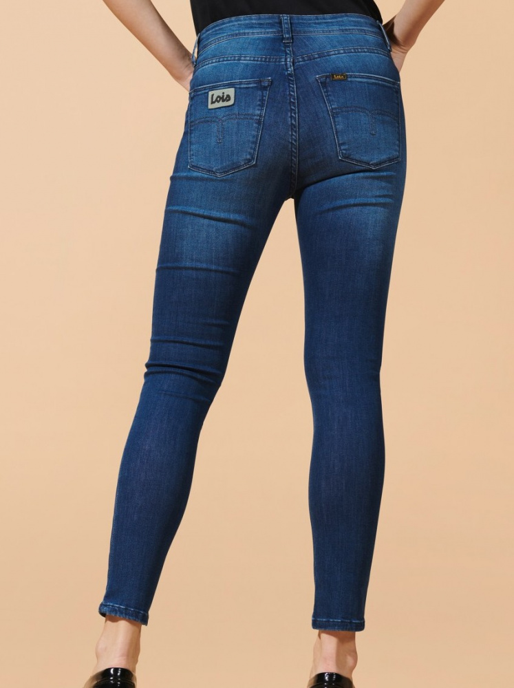 Blue Alecia Jeans  Part Two  Skinny Jeans